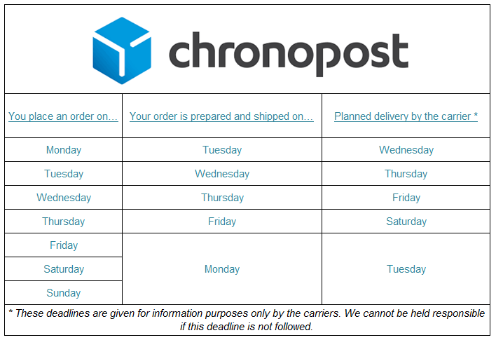 Chronopost-carrier
