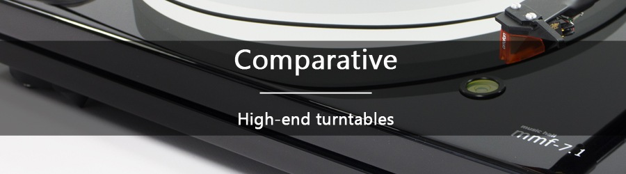 Comparison: high-end turntables