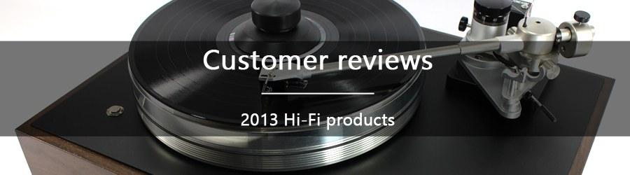 2013 Customer reviews
