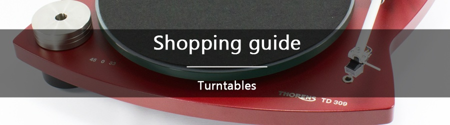 Shopping guide: turntables