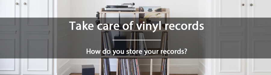 How do you store your records ?