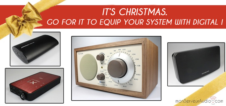 monServeurAudio.com Christmas purchase guide