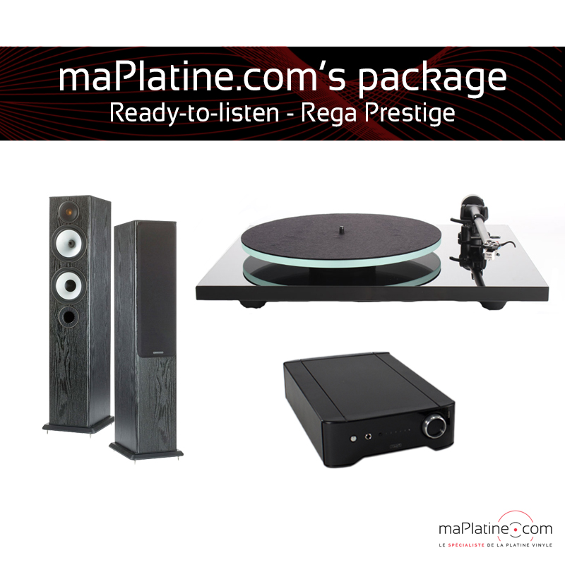 REGA Prestige Ready-to-Listen package