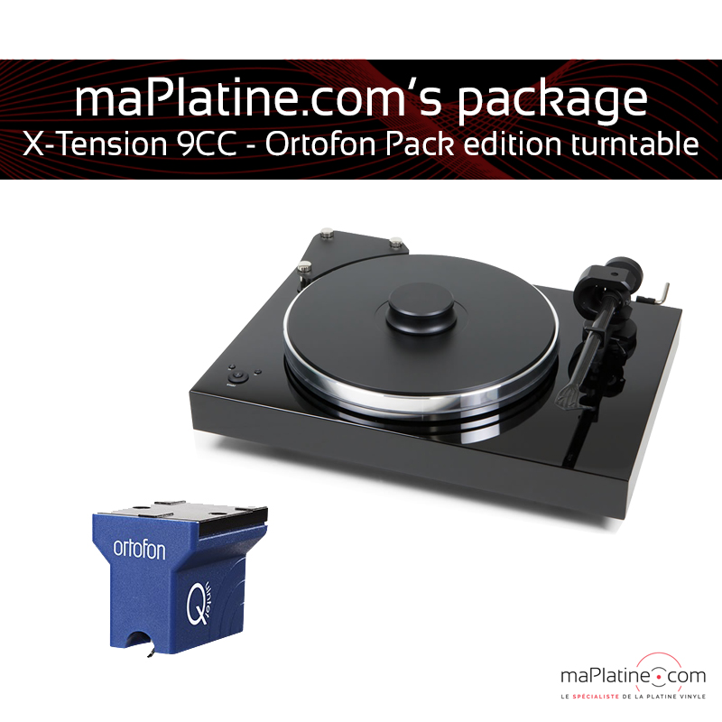 Pro-Ject X-tension 9 turntable with Ortofon Quintet Blue cartridge