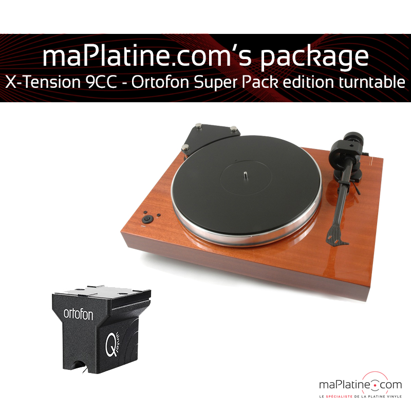 X-Tension 9 turntable – Ortofon Super Pack Edition