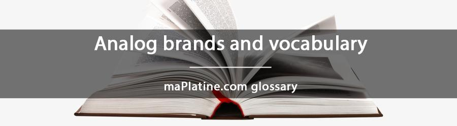 maPlatine.com glossary
