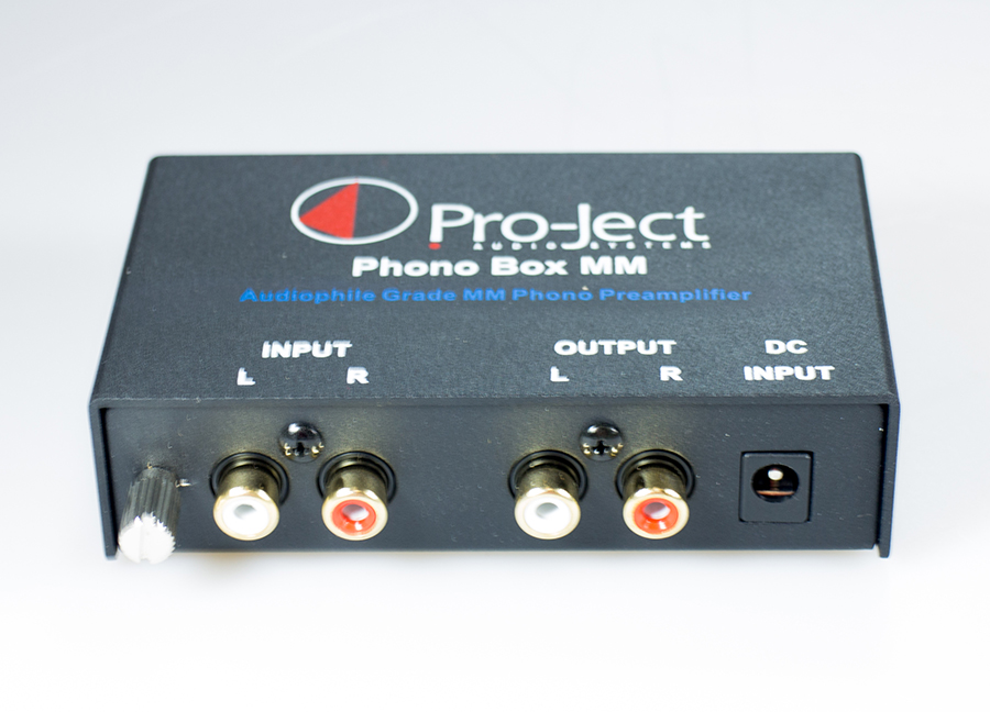 Pro-Ject MM DC phono preamp