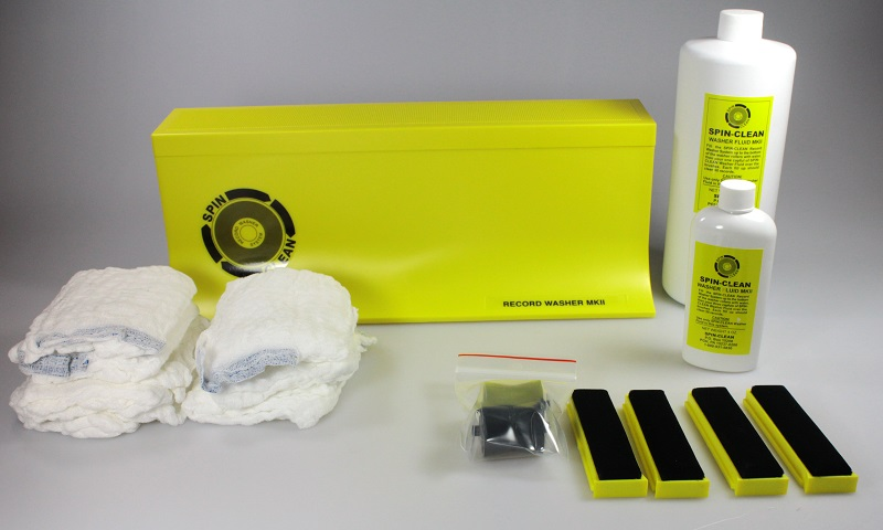 Spin Clean Washer Package