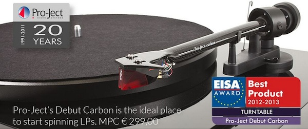 award debut carbon pro-ject