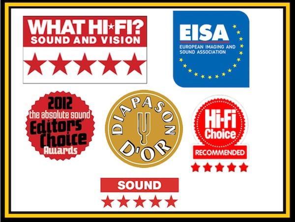 produits primés Hi-Fi