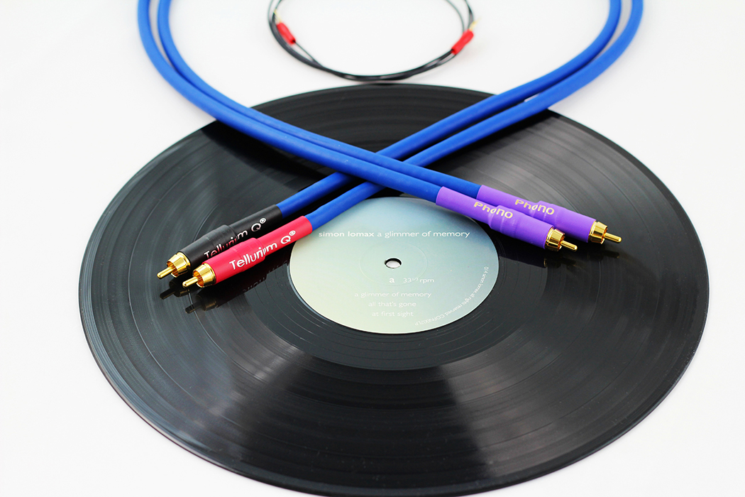 Tellurium Q blue phono cable