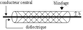 Câble audio numérique coaxial