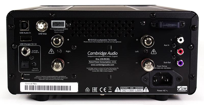 Amplificateur intégré tout-en-un Cambridge Audio One V2