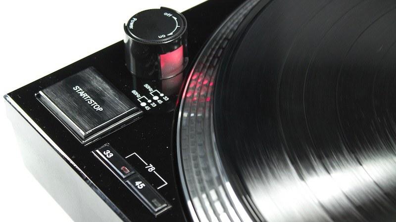Audio Technica LP120 USB HC - Vitesses de lectures