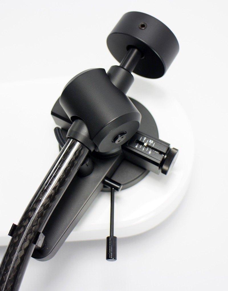 Pro-Ject RPM 3 Carbon réglage bras et antiskating