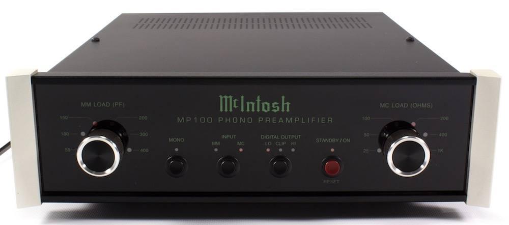 MC Intosh MP 100 Façade