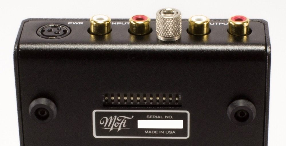 MoFi Ultra Phono Paramétrage