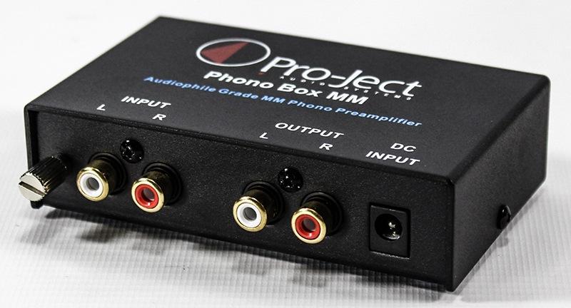 Préamplificateur phono Pro-Ject MM DC