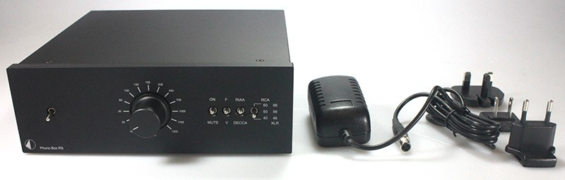 Préamplificateur phono Pro-Ject Phono Box RS