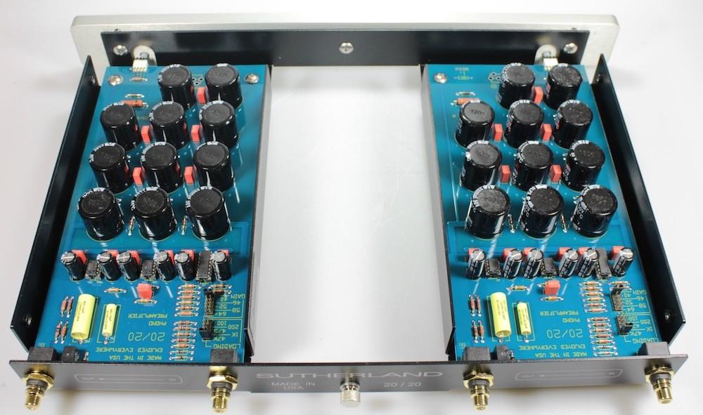 Sutherland 20/20 Électronique
