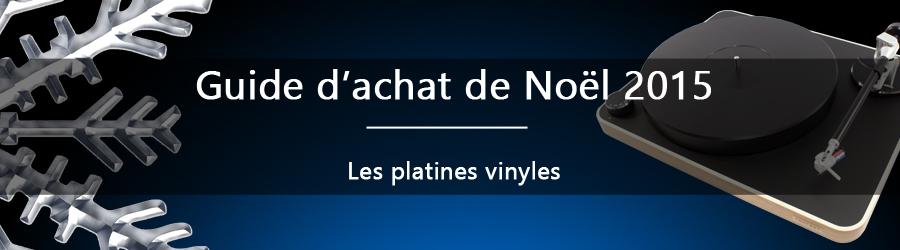 Guide d'achat de noël : les platines vinyles
