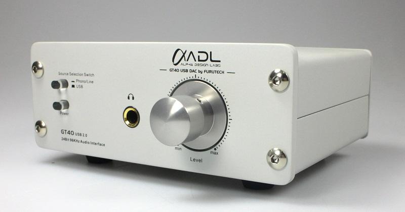 Préamplificateur Furutech/ADL GT40 Alpha