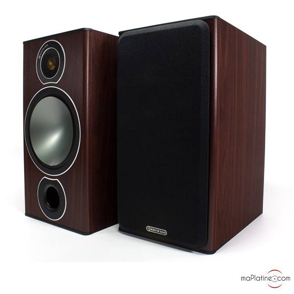 Enceintes de bibliothèque Monitor Audio Bronze 2