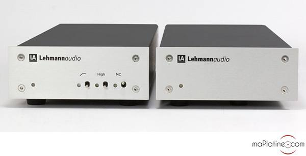 Préamplificateur phono Lehmann Audio DECADE