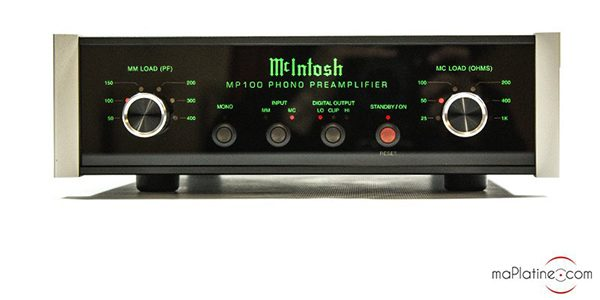 Préamplificateur phono Mc Intosh MP 100