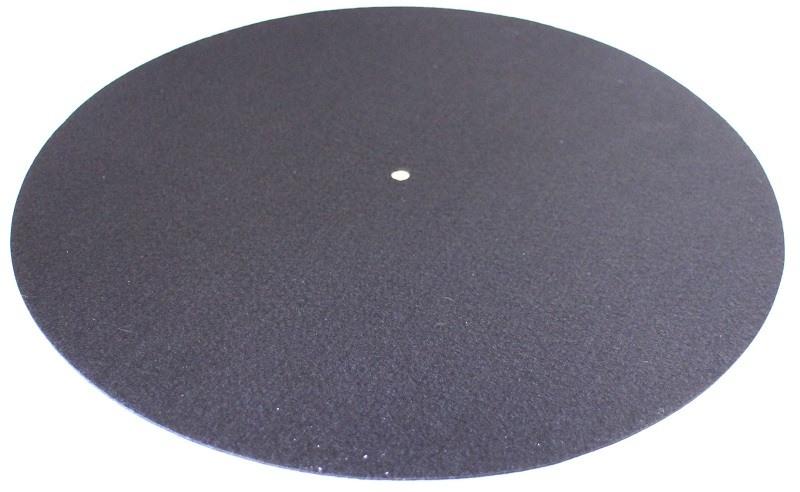 Couvre-plateau feutre/carbone Analogis Mat 5