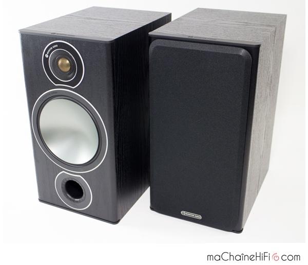 Enceintes bibliothèque Monitor Audio Bronze 2
