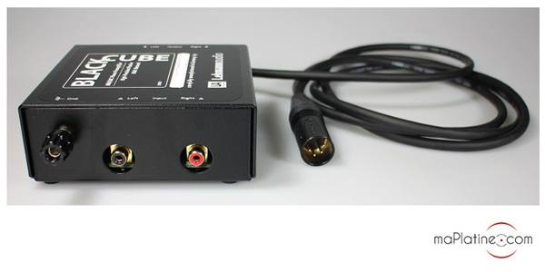 Préamplificateur phono Lehmann Audio Black Cube
