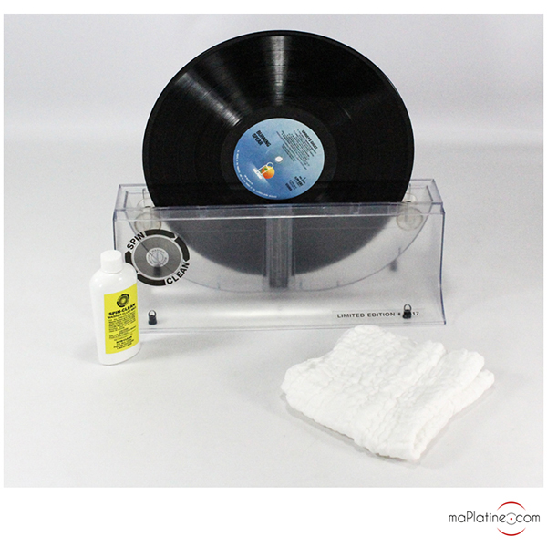Machine à laver les disques vinyles Spin Clean Washer Package SE
