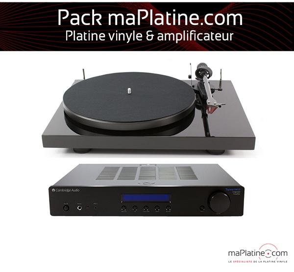 Chaine vinyle Platine vinyle & amplificateur