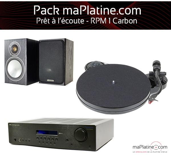 Chaîne vinyle - RPM 1 Carbon