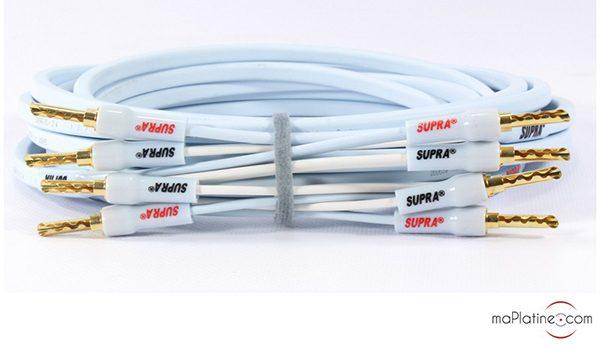 Câbles haut-parleurs Supra Ply 3.4 Kit Combicon