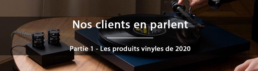 Nos clients en parlent en 2020 - Les produits vinyles