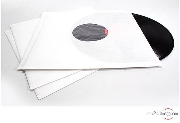 Pochettes antistatiques papier doublée vinyle