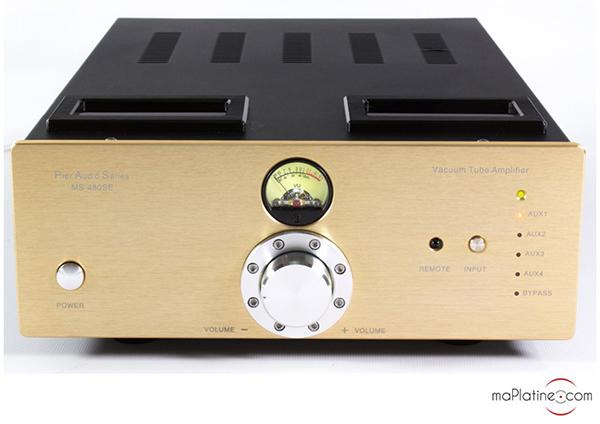 Amplificateur intégré Pier Audio MS 480SE