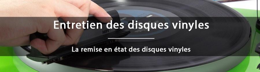 Comment redonner vie à des disques vinyles en mauvais état ?
