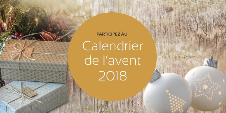 Calendrier de l'Avent 2018 avec maPlatine.com