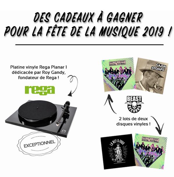 Jeu concours de la Fête de la Musique 2019