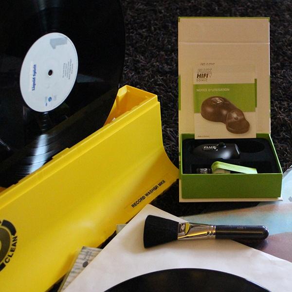 Produits d'entretien pour disques vinyles