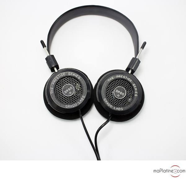 Casque Hi-Fi Grado SR60e