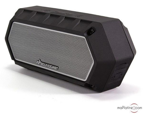 Enceinte portable Bluetooth Soundcast VG1