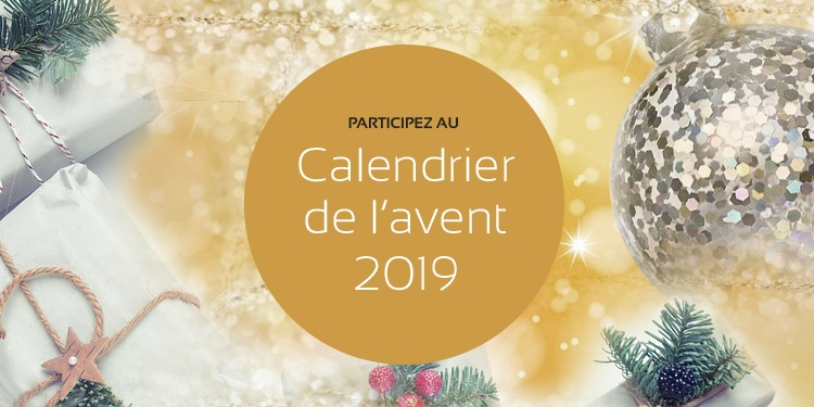 Calendrier de l'Avent 2019 de maPlatine.com