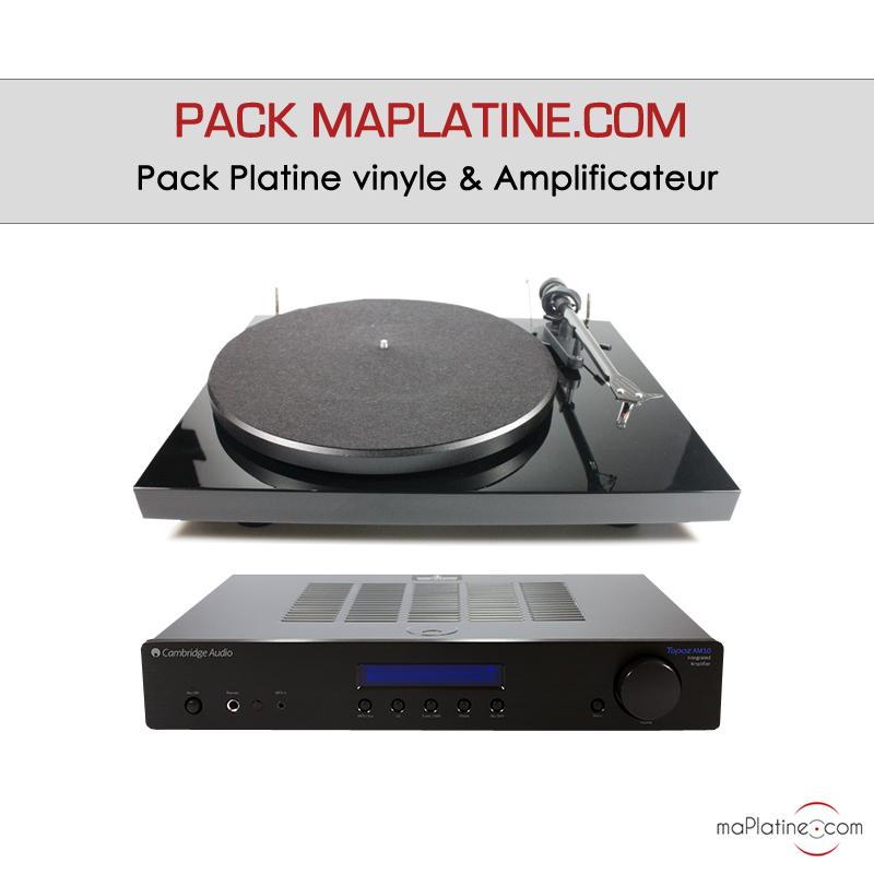 Découvrez le pack platine vinyle et amplificateur
