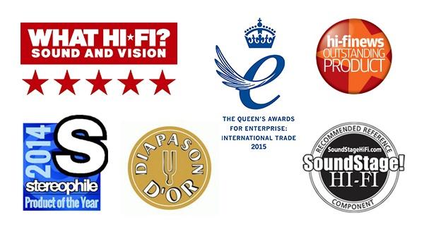 Awards reçus par la platine vinyle Rega RP8