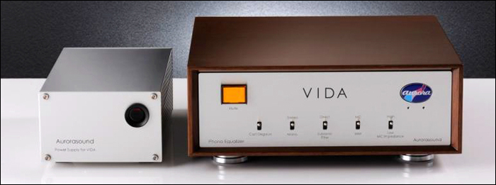 Préamplificateur phono Aurorasound VIDA