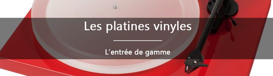 Les platines vinyles: l'entrée de gamme